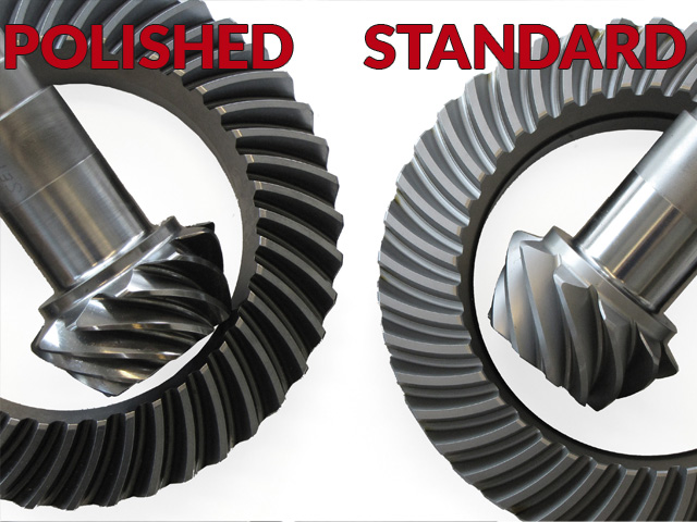 BMW Differentials REM polishing comparison